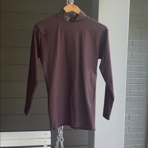 Under armor brown long sleeve